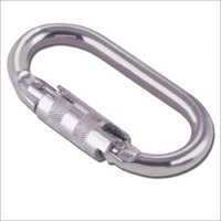 Quarter Turn Steel Karabiner