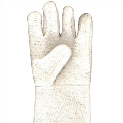 Asbestos Hand Gloves With Woolen Lining Super Safety