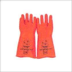 Industrial Orange Glove