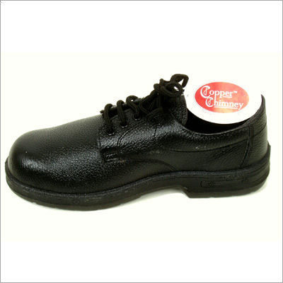 Derby Leather Safety Shoes