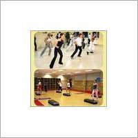 Aerobic Hall Wooden Flooring
