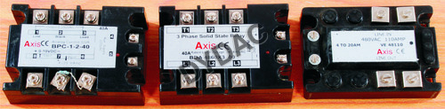 Solid State Relays (SSR)