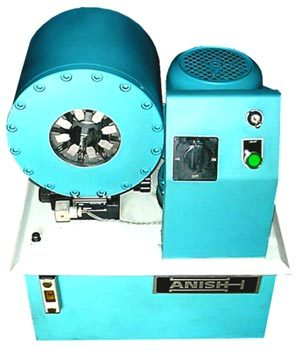 Vertical Crimping Machine
