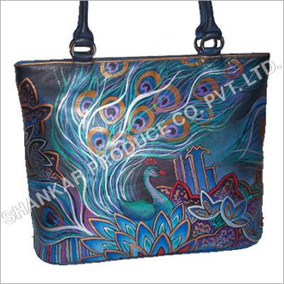 Hand Painted Ladies Bags