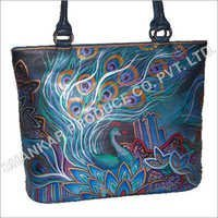 Hand Painted Ladies Bags