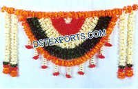 Indian Wedding Entrance Flower Decoration