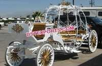 Wedding Golden Cinderella Carriage