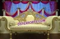 Wedding Golden Love Seater