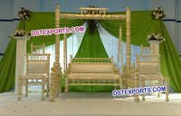 Wedding Pearl Swing Stage