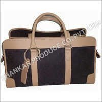Leather Embossed Travel Bag