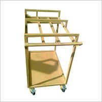 SS Fabricated Trolley