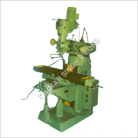 Precision Turret Milling Machine
