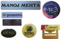 Name Badges, Tiepins