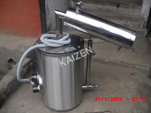 Distillation Apparatus Barnted Type