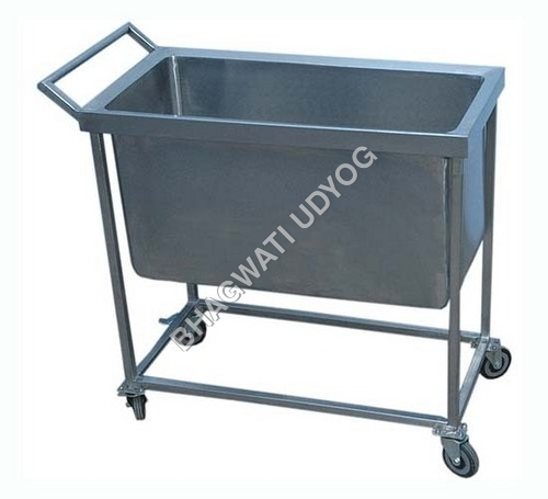 wast dish collection trolly