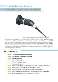 Ccd Endoscopy Camera