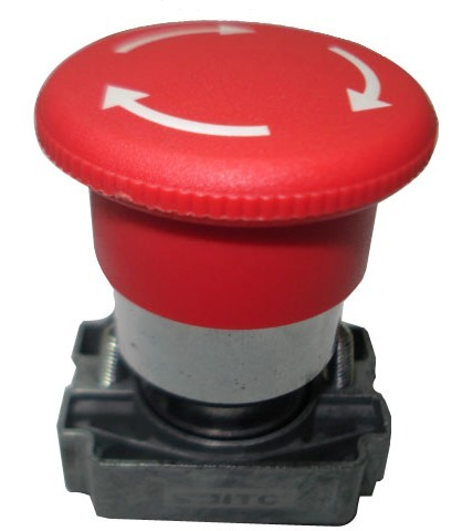 Metal emergency push buttons