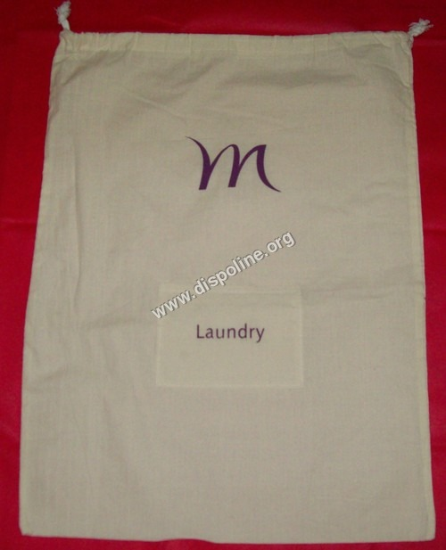Gray/Cora Cloth Laundry Bag