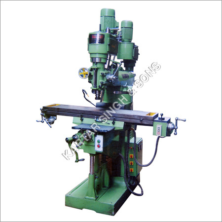 Milling Machine Twin Head