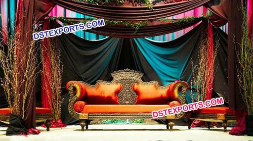 Asian Wedding New Designer Sofa Set