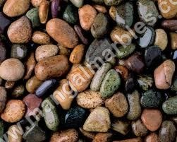 colored tumbled pebbles