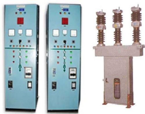 Control Relay Panel & Outdoor Circuit Braker