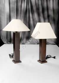 Copper Plated Metal Lamp With Shade