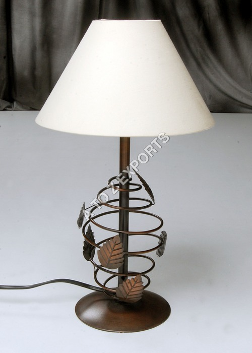 Copper Plated Iron Metal Lampshade
