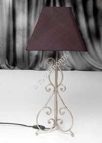 Pewter Finish Metal Lampshade