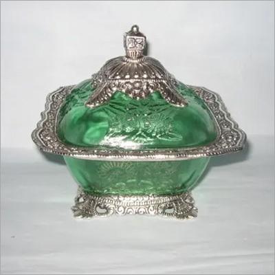 Indian Glass Dryfruit Case