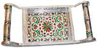 white metal tray wholesalers