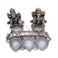 white metal god staute diya suppliers
