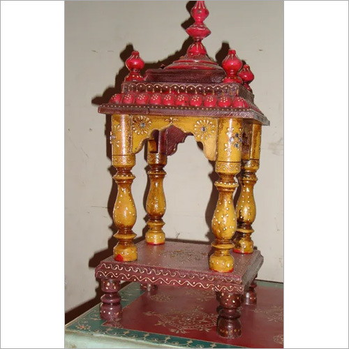 Wooden Handicrafts Temple