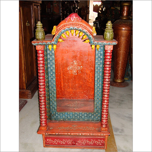 Indian Wooden Temple