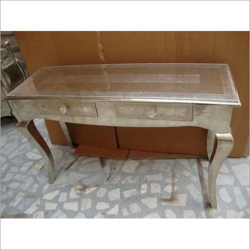 Decorative Silver Color Table
