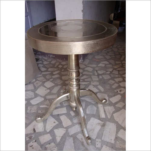 Silver Decorative Table