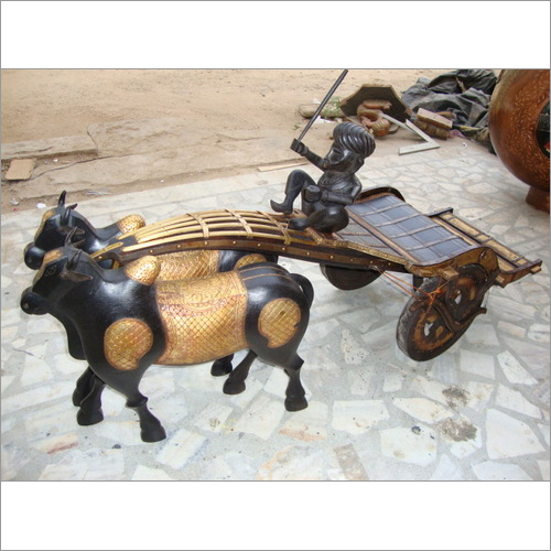 Indian Antique Bullcart