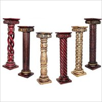 Indian Wooden Pillars