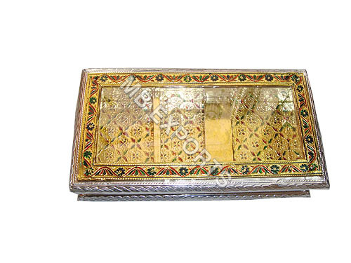 WHITE METAL GOLD PLATED BOX SUPPLIERS