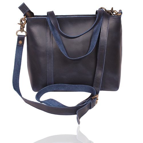 Classic Blue Office Bag