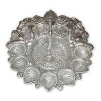 GERMAN SILVER POOJA THALI SUPPLIERS
