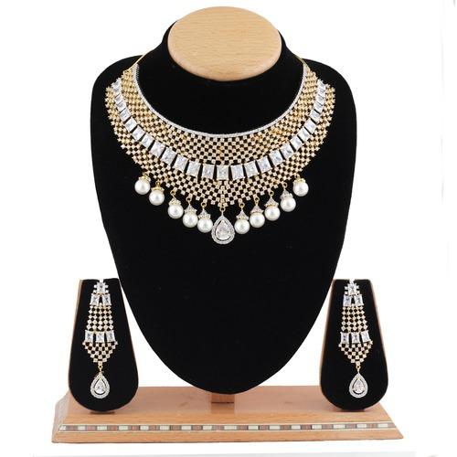C.Z.Designer Necklace Set