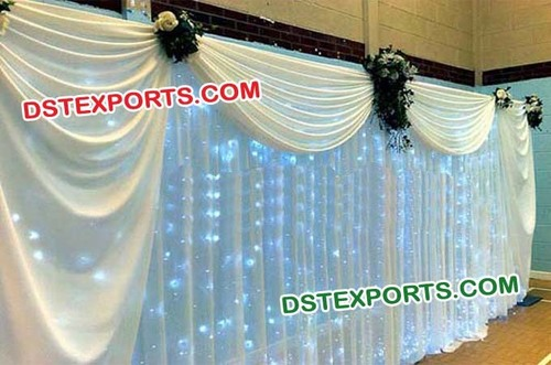 Asian Wedding Stage Backdrop