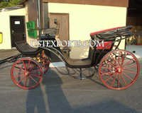 Black Victoria Carriage