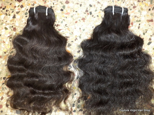 Spring Curly machine weft