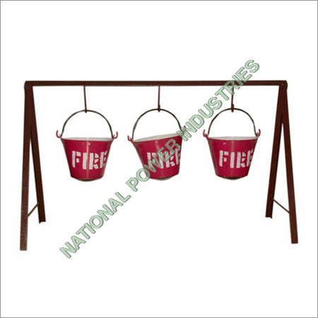 Fire Stand With Buckets