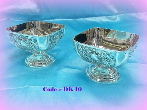 Pair of Sq. Bowls with Pandi