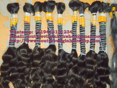 Curly Micro Weft Hair