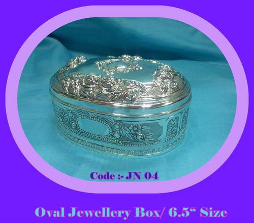 Oval Jewellery Box