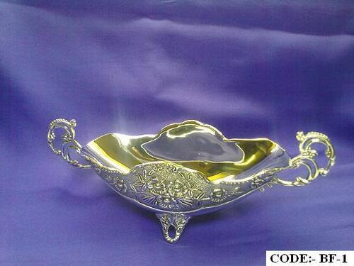 Oval Silver Plated Bowls